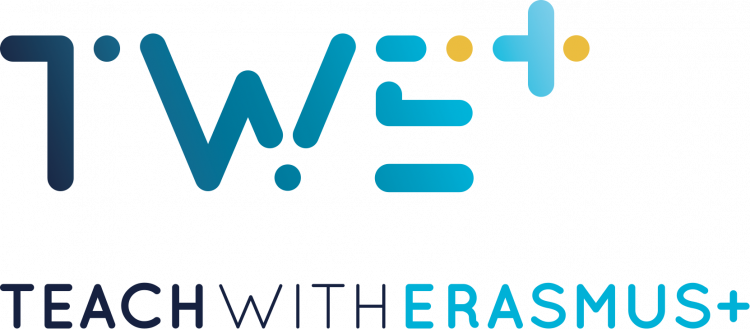 Teach with Erasmus+ logo